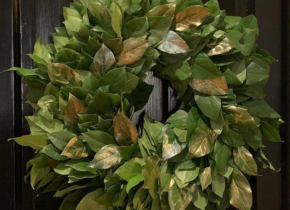 Fresh Lemon Leaf Wreath