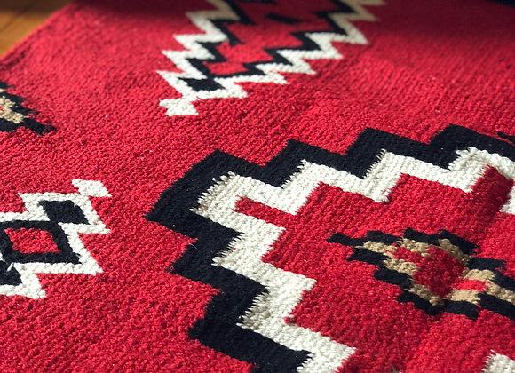 Hand-woven Zapotec Rug