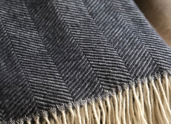 Herringbone New Wool Blanket