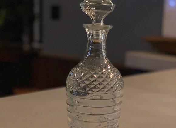 Post Prohibition Era Glass Decanter