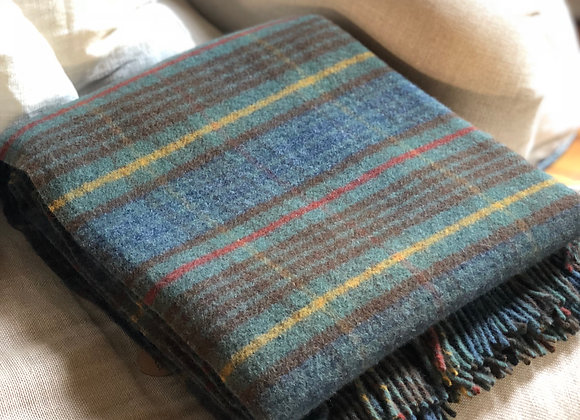 Stewart Hunting Antique Tartan | New Wool Blanket