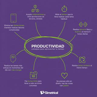 Productividad consejos para aprovechar t