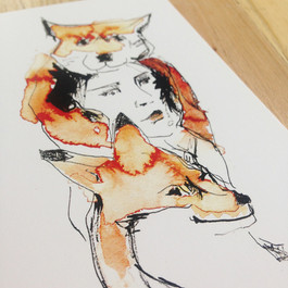 La fille renards