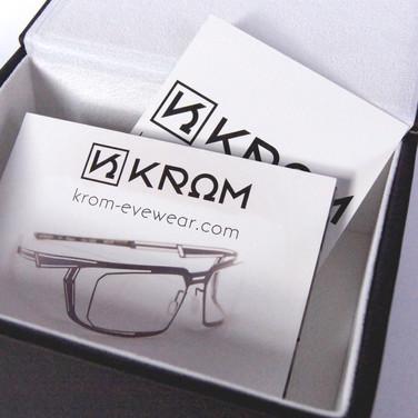 Krom - créateur de lunettes