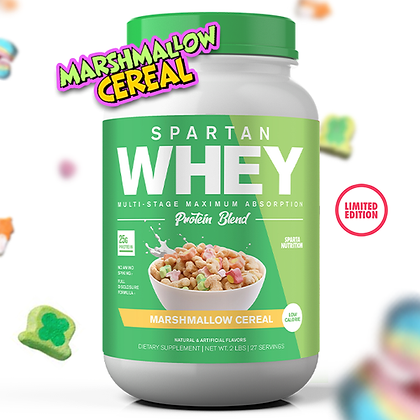 Spartan Whey: Marshmallow Cereal