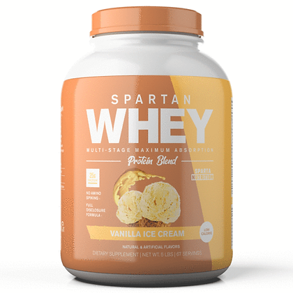 Spartan Whey: Vanilla Ice Cream