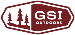GSI Outdoors Red Trees Logo