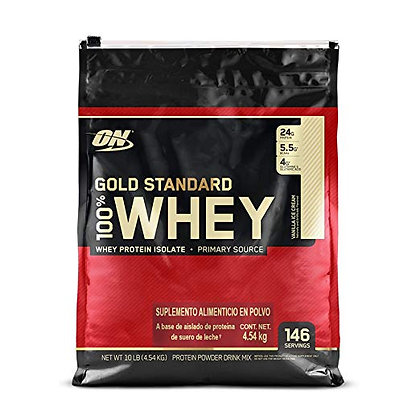 GOLD STANDARD WHEY 5.64 LBS.