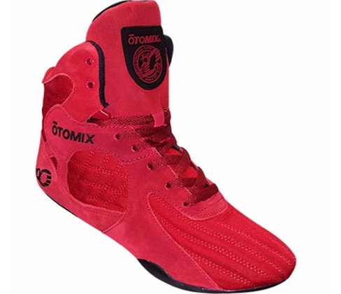 Blood Red Stingray Bodybuilding & MMA Shoes