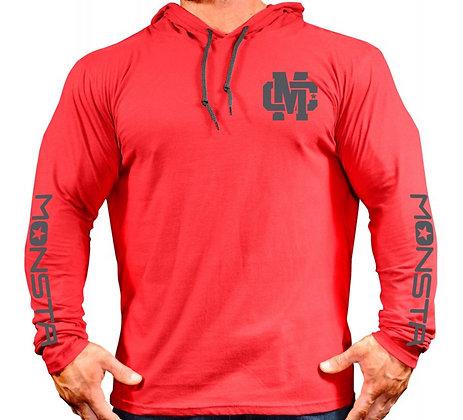 MC Hooded Longsleeve Red