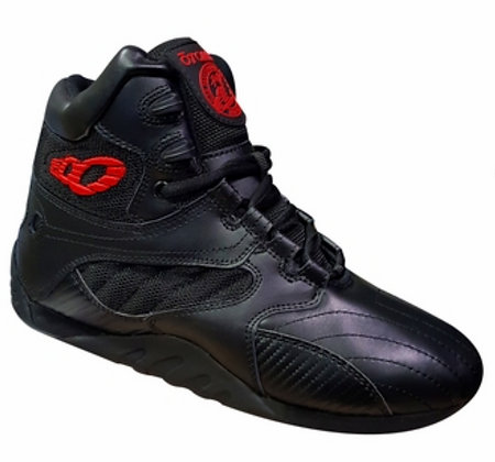Black/Carbon Ultimate Trainer Bodybuilding Shoes