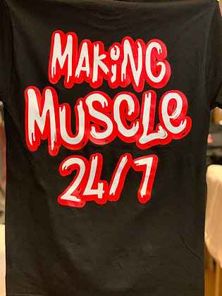 Making Muscle 24/7 - Black