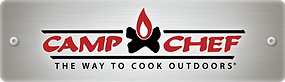 Camp Chef The Way to Cook Outdoors Fire Log Logo