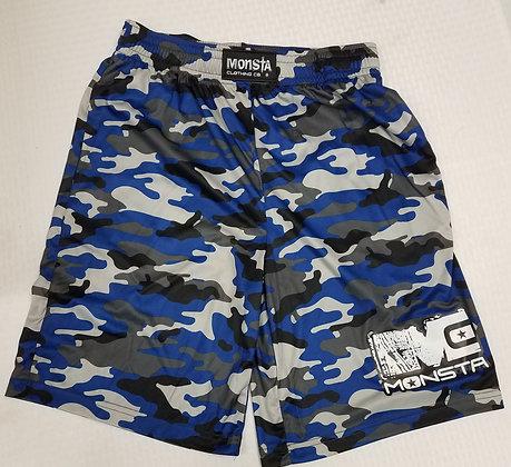 Monsta DriFIt Blue Camo Shorts