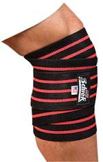 BLACK LINE KNEE WRAPS 1178B