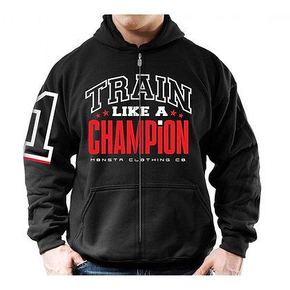 Train like a Champion Zipper Hoodie