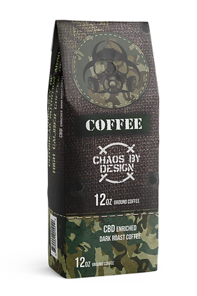 Outbreak Nutrition: CBD Enriched Dark Roast Coffee