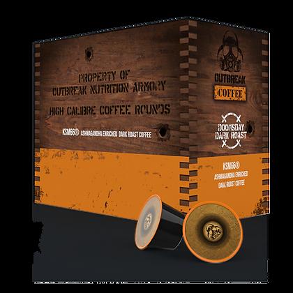 Dooms Dark Roast Coffee Kcups (24 pack)