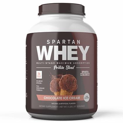 Spartan Whey: Chocolate Ice Cream