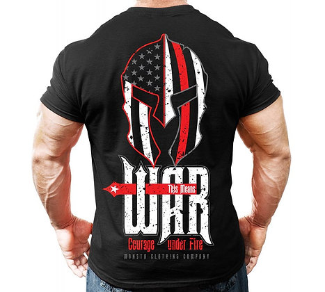 THIS MEANS WAR : Courage Under Fire - TEE