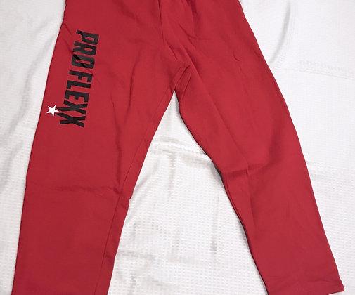 PROFLEXX SWEATPANTS RED