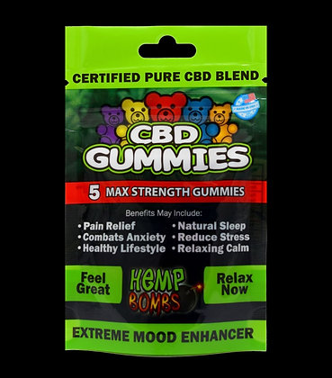 CBD GUMMIES 5ct/75mg