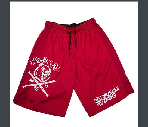 MUSCLE DOG MENS SHORTS (RED)