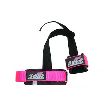 SCHIEK PINK LIFTING STRAPS MODEL S-1000PLS