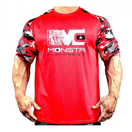 MONSTA DRIFIT CAMO RED