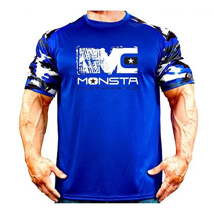 MONSTA DRIFIT CAMO BLUE