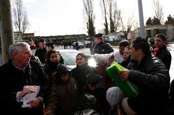 Expulsion d'un camps roms