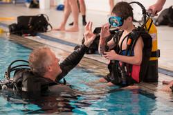 Baptême de plongée - Virades