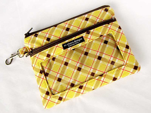 Yellow Plaid - Large PP