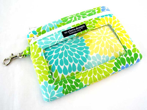 Spring Floral - Sm Phone Pouch