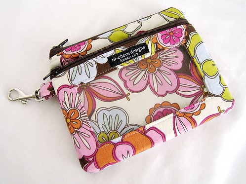 Vintage Bloom - Sm Phone Pouch