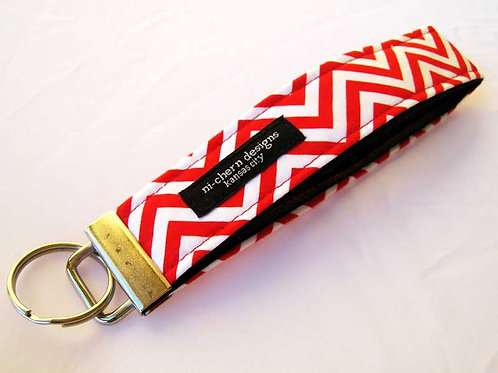 Red White Chevron - Regular