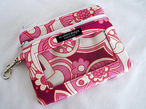 Pink Park Slope - Sm Phone Pouch