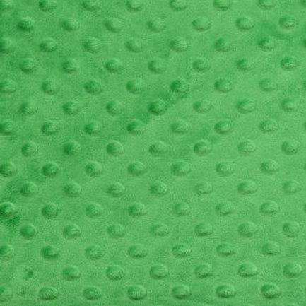 Green Dot Minky