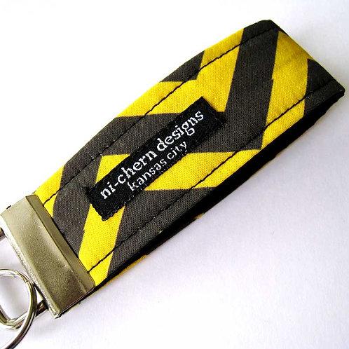 Black Yellow Chevron - Mini