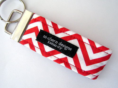 Red Chevron - Mini
