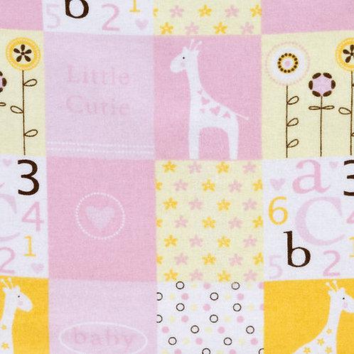 Little Cutie Pink - Flannel