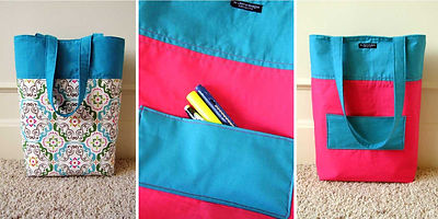 Ni-Chern Designs - Reversible Tote via Handmade In KC