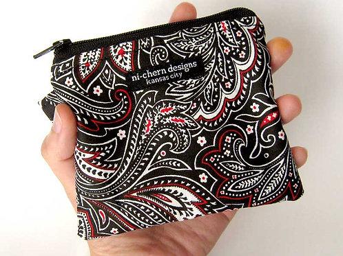 Black Red Paisley - CP