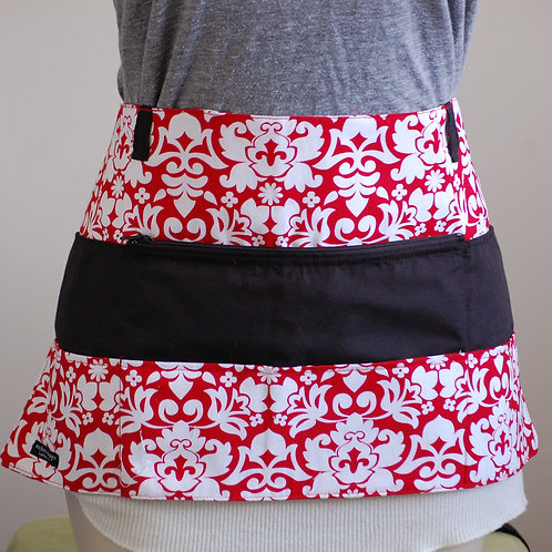 Red Damask - Craft Apron