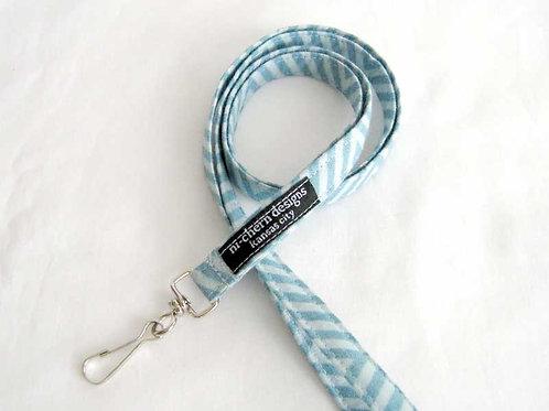 Light Blue Stripes Chevron - LL