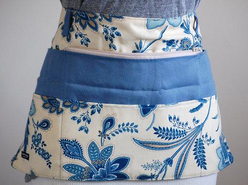 Blue Floral Apron