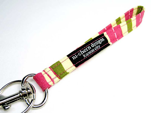 Pink Green Stripes - WH