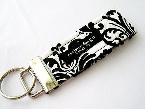 Black White Damask - Mini