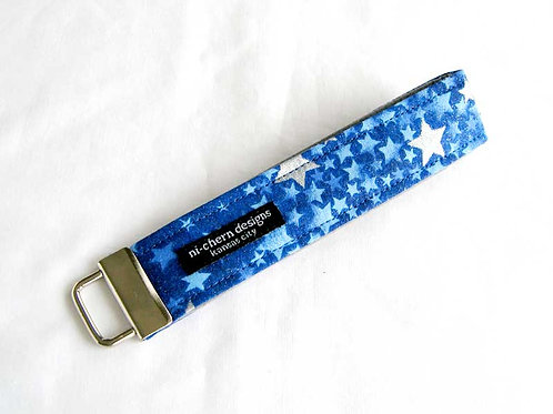 Blue Glittery Stars - Regular