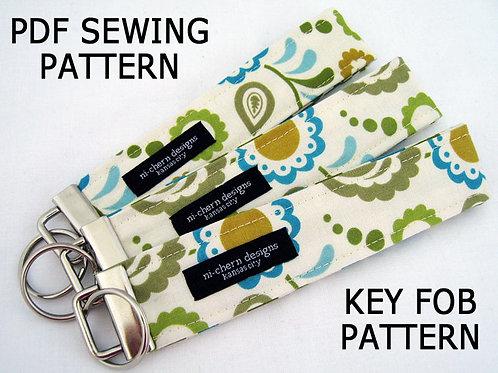 Key Fob  Pattern - paper format